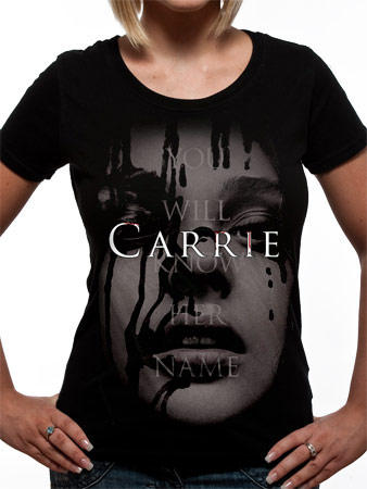 Carrie (Face) T-shirt Preview