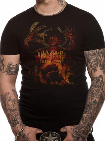 Nightmare On Elm Street (Vintage Freddie) T-shirt Preview