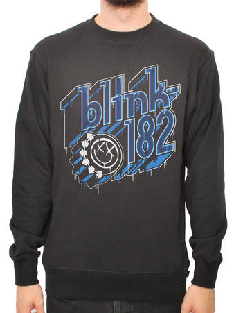 Blink 182 (Text) Crew Neck Preview
