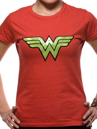 Wonder Woman (Foil Logo) T-shirt Preview