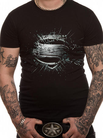 Man Of Steel (Erroded) T-shirt Preview