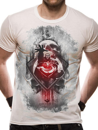 Man Of Steel (Zod Skull) T-shirt Preview