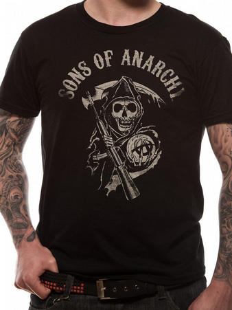 Sons Of Anarchy (Main Logo) T-shirt Preview
