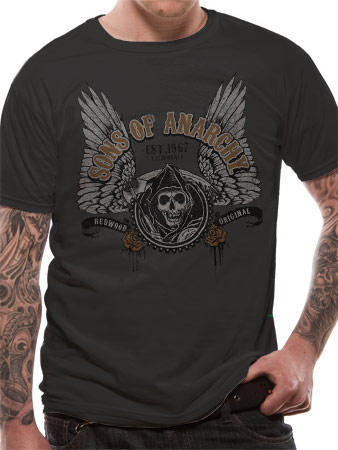 Sons Of Anarchy (Winged Logo) T-shirt Preview