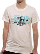 Star Wars (Logo AT-AT) T-shirt