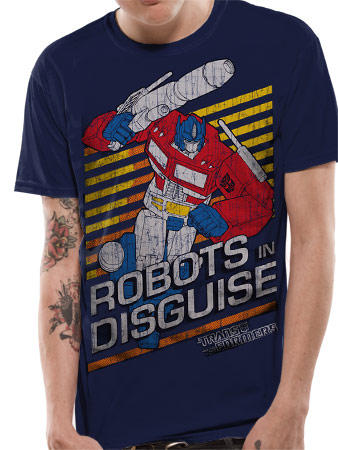 Transformers (Robots In Disguise) T-shirt Preview