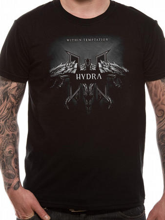 Within Temptation (Hydra Grey) T-shirt Preview