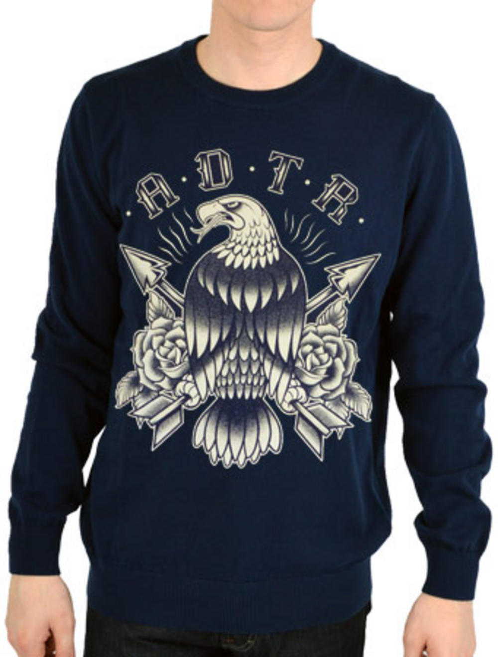 A Day To Remember (Eagle) Crew Neck | TM Shop A Day To Remember Golden Eagle