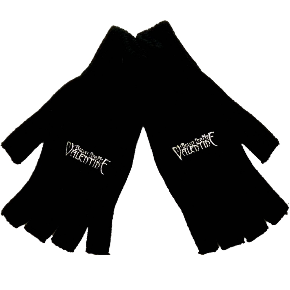 Official Bullet For My Valentine (Logo) Fingerless Gloves