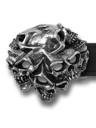 Alchemy (Gestalt Skull) Belt Buckle Preview