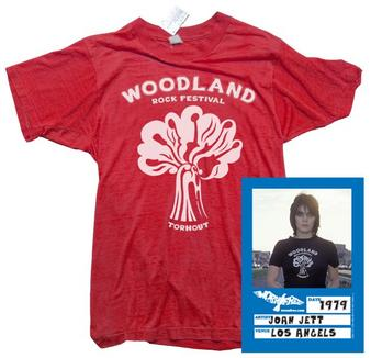 Joan Jet (Woodland) T-shirt Preview