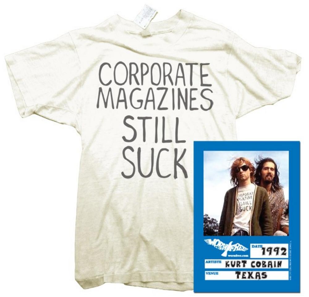 Kurt Cobain (Corporate Magazine) T-shirt