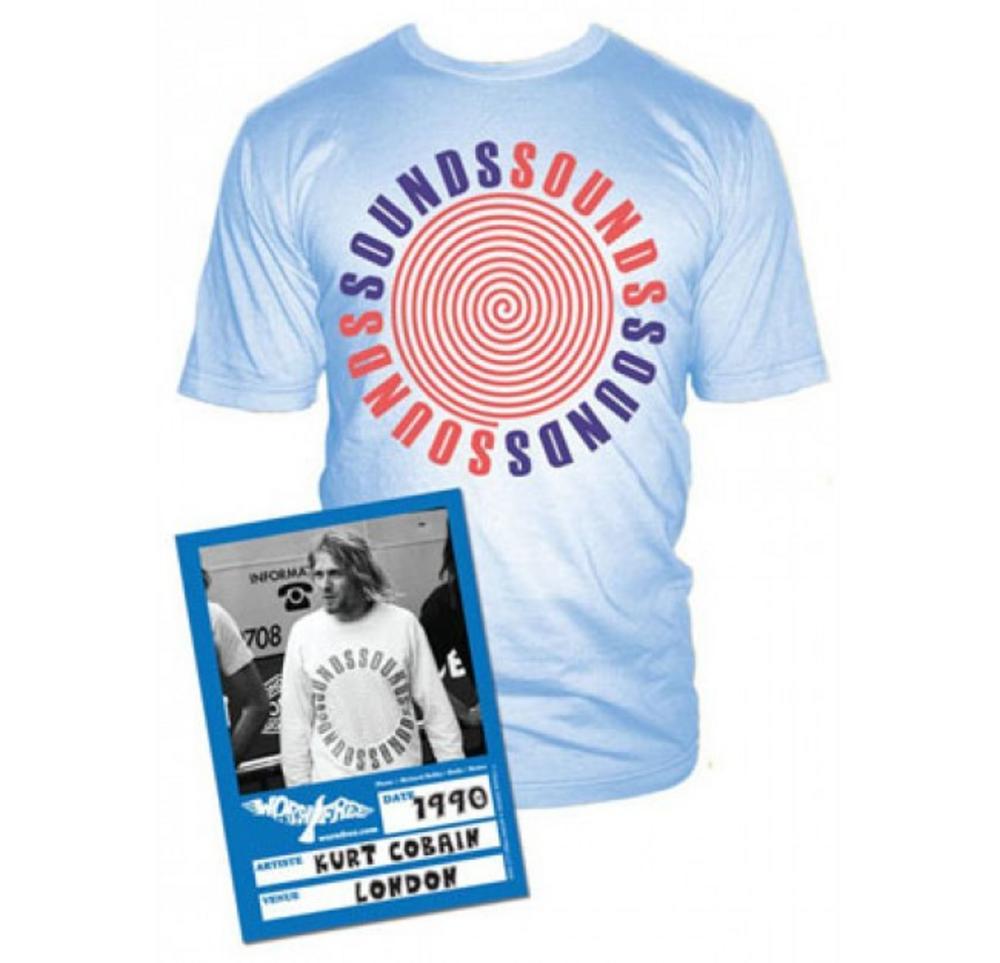Kurt Cobain (Sounds Mag) T-shirt