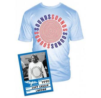 Kurt Cobain (Sounds Mag) T-shirt Thumbnail 1
