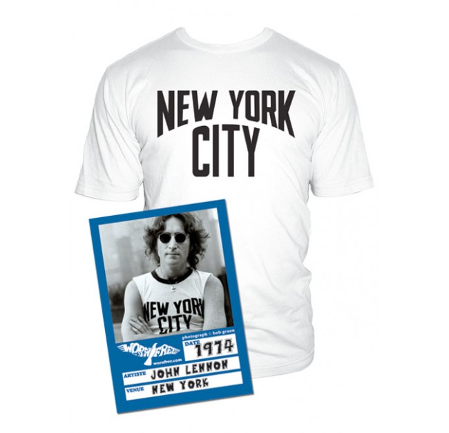 John Lennon New York City T Shirt Tm Shop