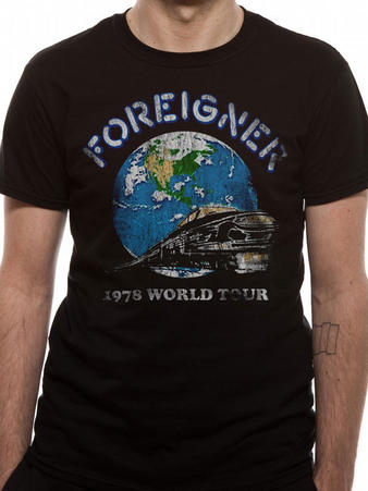 Foreigner (World Tour 78) T-shirt Preview