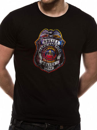 The Police (Shield) T-shirt Preview