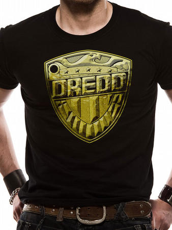 Judge Dredd (Shield Logo) T-shirt Preview