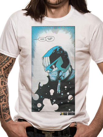 Judge Dredd (Box Art) T-shirt Preview