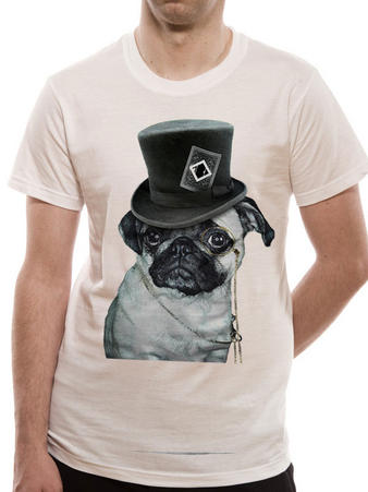 The Blackout (Top Pug) T-shirt Preview