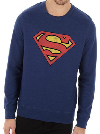 Superman (Vintage Logo) Crew Neck Preview