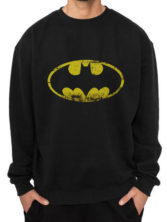 Batman (Distressed Logo) Crew Neck Preview