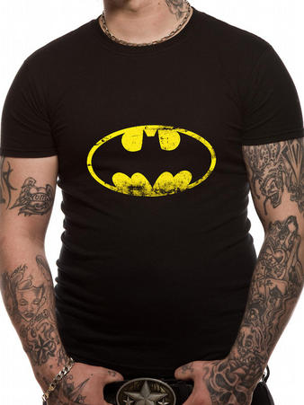 Batman (Distressed Logo) T-shirt Preview