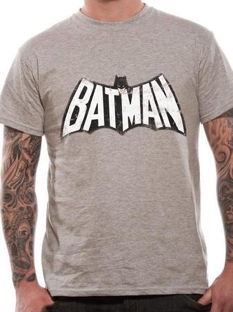 Batman (Retro Logo B&W) T-shirt Preview