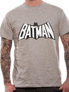 Batman (Retro Logo B&W) T-shirt