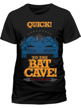 Batman (Batcave) T-shirt Preview
