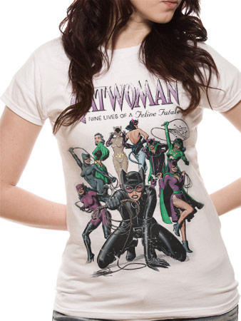 Catwomen (Nine Lives) T-shirt Preview