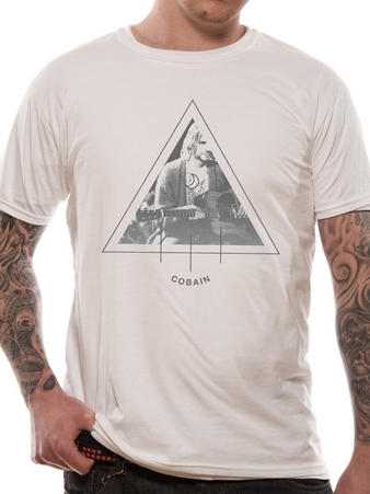 Kurt Cobain (Triangle Photo) T-shirt Preview