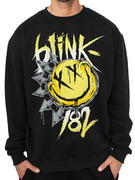 Blink 182 (Smiley) Crewneck