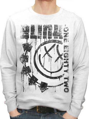 Blink 182 (Spelled Out) Crewneck Preview