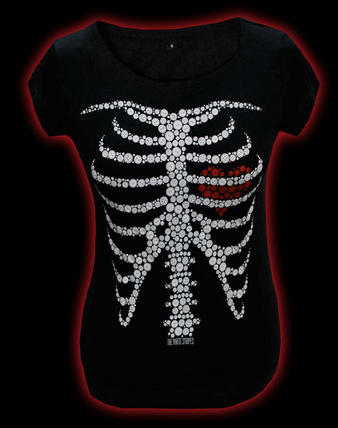 The White Stripes (Skeleton) T-shirt Preview