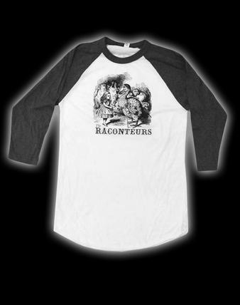 The Raconteurs (Alice and Dodo) T-shirt Preview