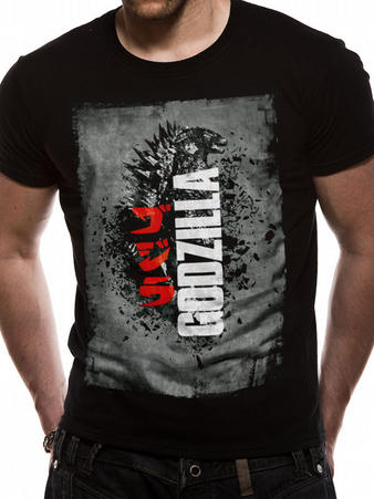 Godzilla (Distressed Poster) T-shirt Preview