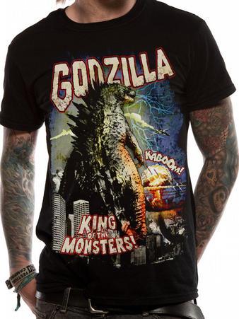 Godzilla (Retro Poster) T-shirt Preview