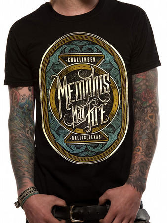 Memphis May Fire (Dallas) T-shirt Preview