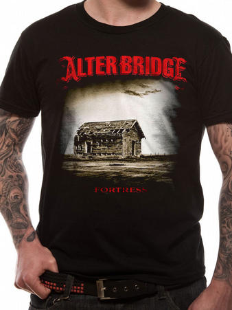 Alter Bridge (Fortress) T-shirt Preview