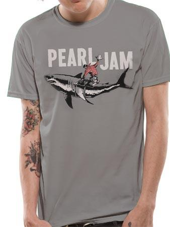 Pearl Jam (Shark Cowboy) T-shirt Preview
