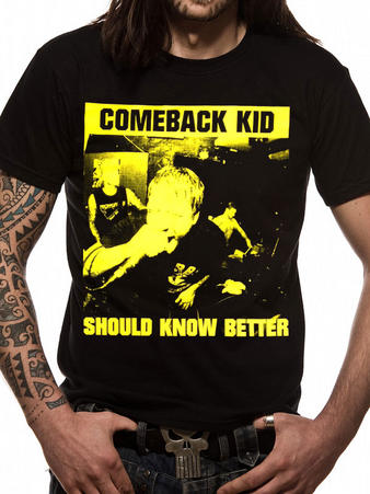 CBK (Should Know Better) T-shirt Preview