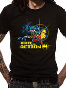 Batman & Robin (Built For Action) T-shirt