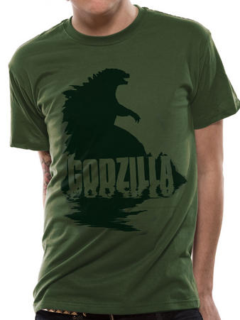 Godzilla (Silhouette) T-shirt Preview