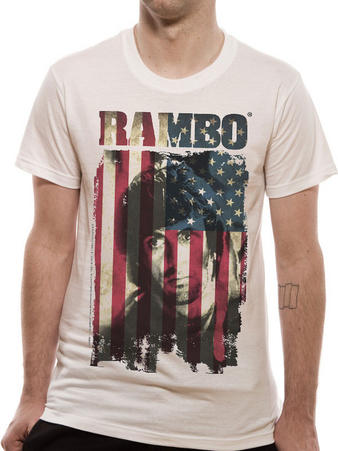 Rambo (Rambo Flag) T-shirt Preview