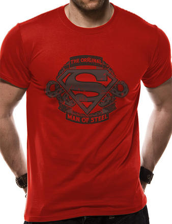 Superman (Original Man Of Steel) T-shirt Preview