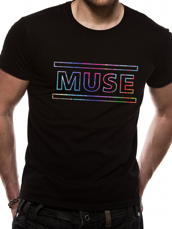 official muse 2nd law logo t shirt all sizes ebay. Black Bedroom Furniture Sets. Home Design Ideas