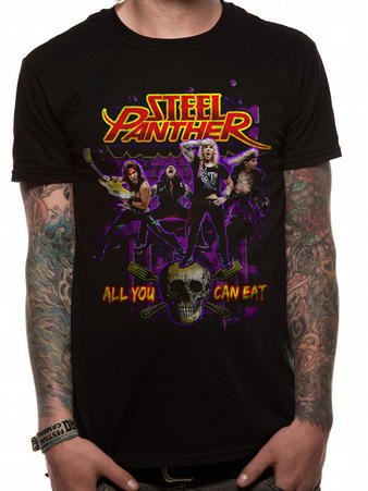 Steel Panther (Ayce) T-shirt Preview