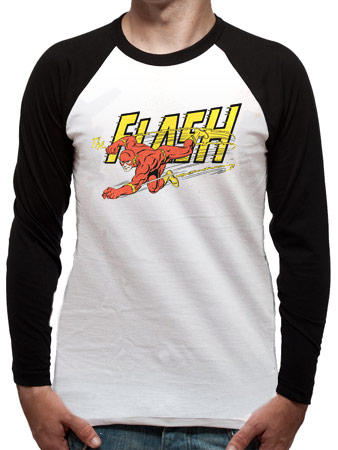 The Flash (Vintage) Baseball Shirt Preview
