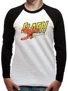 The Flash (Vintage) Baseball Shirt